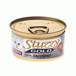 Stuzzy - Консервы для кошек (кусочки индейки) GOLD - фото 6168