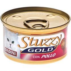 Stuzzy - Консервы для кошек (кусочки курицы) GOLD - фото 6169