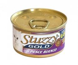 Stuzzy - Консервы для кошек (мусс из белой рыбы) GOLD - фото 6170