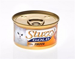 Stuzzy - Консервы для кошек (мусс из форели) GOLD - фото 6176