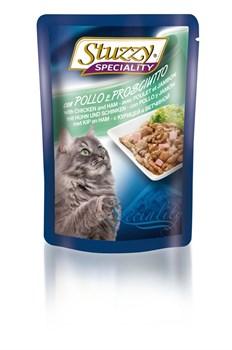 Stuzzy - Консервы для кошек (с курицей и ветчиной) Speciality Cat - фото 6181