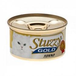 Stuzzy - консервы для кошек (тунец в собственном соку) GOLD - фото 6192