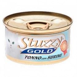 Stuzzy - Консервы для кошек (тунец с крабовыми палочками в собственном соку) GOLD - фото 6194