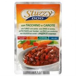 Stuzzy - Консервы для собак (с индейкой и морковью в соусе) - фото 6196