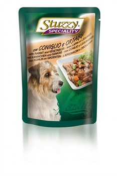 Stuzzy - Консервы для собак (с кроликом и овощами) Speciality Dog - фото 6197