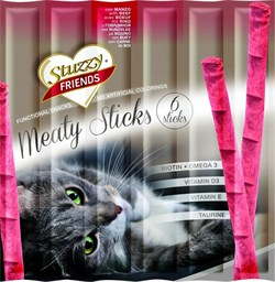 Stuzzy - Палочки для кошек (говядина) FRIENDS - фото 6206