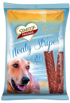 Stuzzy - Полосочки для собак (говядина) FRIENDS Meaty Stripes - фото 6222