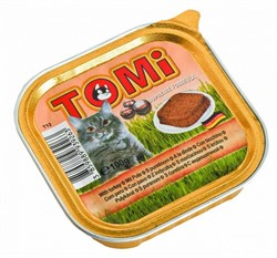 Tomi - Консервы для кошек (с индейкой) - фото 6227
