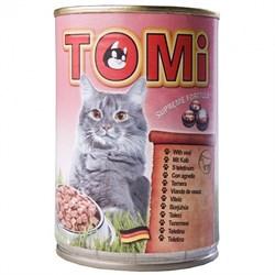 Tomi - Консервы для кошек (телятина) - фото 6230