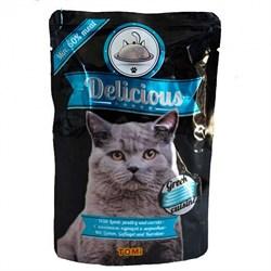 Tomi - Паучи для кошек (греческая кухня) Delicious - фото 6248