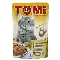 Tomi - Паучи для кошек (птица с кроликом) - фото 6251