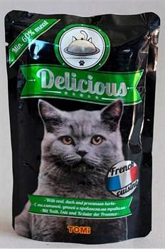 Tomi - Паучи для кошек (французская кухня) Delicious - фото 6253