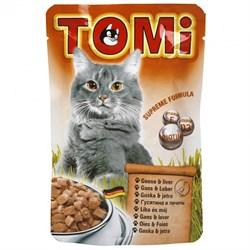 Tomi - Паучи для кошек (гусь с печенью) - фото 6254