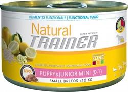 Trainer - Консервы для щенков и юниоров мелких и миниатюрных пород Trainer Natural Small & Toy Puppy & Junior - фото 6269