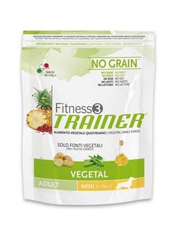 Trainer - Сухой беззерновой корм для взрослых собак мелких пород (вегетарианский) Fitness No Grain Mini Adult Vegetal - фото 6272