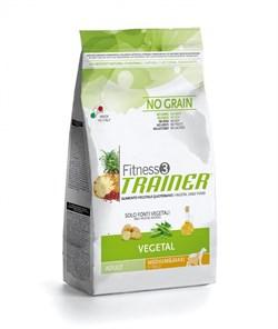 Trainer - Сухой беззерновой корм для взрослых собак средних и крупных пород (вегетарианский) Fitness No Grain Medium/Maxi Adult Vegetal - фото 6275