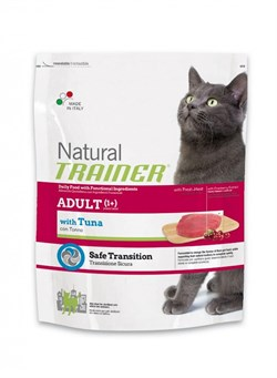 Trainer - Сухой корм для взрослых кошек (с тунцом) Natural Adult Tuna - фото 6282