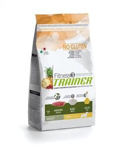 Trainer - Сухой корм для взрослых собак мелких пород (с уткой и рисом) Fitness No Gluten Mini Adult Duck and Rice - фото 6291