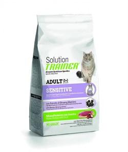 Trainer - Сухой корм для чувствительных и склонных к аллергии кошек (с уткой) Solution Sensitive With Duck - фото 6305