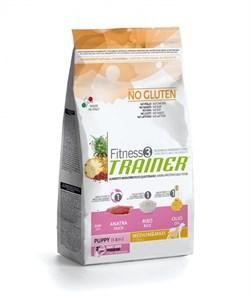 Trainer - Сухой корм для щенков средних и крупных пород (с уткой и рисом) Fitness No Gluten Medium/Maxi Puppy Duck and Rice - фото 6312