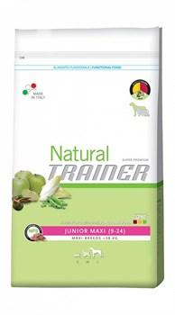 Trainer сухой корм для юниоров крупных пород Natural Maxi Junior - фото 6313