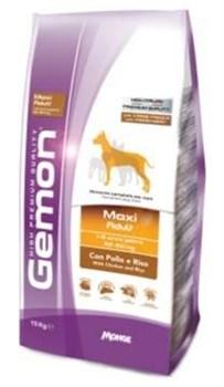Gemon Dog - Сухой корм для взрослых собак крупных пород (курица с рисом) Maxi - фото 6331