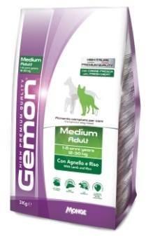 Gemon Dog - Сухой корм для взрослых собак средних пород (ягненок с рисом) Medium - фото 6335