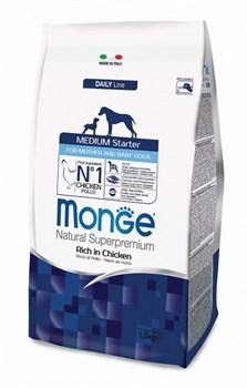Monge - Сухой корм для щенков средних пород Dog Medium Starter - фото 6348