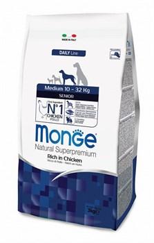 Monge - Сухой корм для пожилых собак средних пород Dog Medium Senior - фото 6360