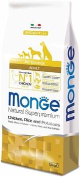 Monge - Сухой корм для собак всех пород (курица с рисом и картофелем) Dog Speciality Line - фото 6391