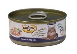 Мнямс - Консервы для кошек (тунец с дорадо в нежном желе) - фото 6406