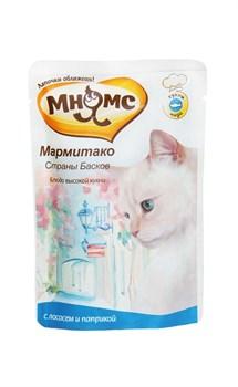 """Мнямс - Паучи для кошек """"Мармитако страны басков"""" (лосось с паприкой) - фото 6412"""