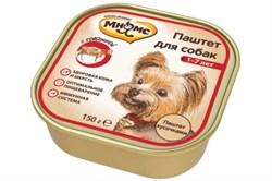 Мнямс - Консервы для взрослых собак (говядина) - фото 6416