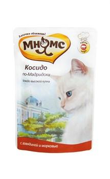 """Мнямс - Паучи для кошек """"Косидо по-мадридски"""" (говядина с морковью) - фото 6422"""
