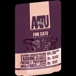 AATU - Паучи для кошек (с лососем, курицей и креветками) SALMON, CHICKEN & PRAWN - фото 6441