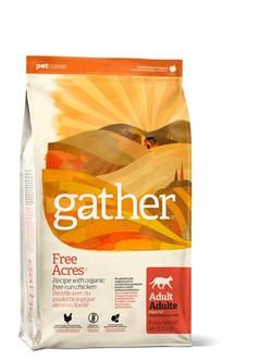 GATHER organic (Petcurean) - Органический сухой корм для кошек (с курицей) Free Acres Chicken - фото 6443