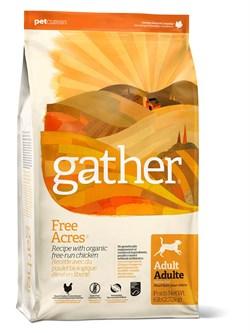 GATHER organic (Petcurean) - Органический сухой корм для собак (с курицей) Free Acres Chicken - фото 6444