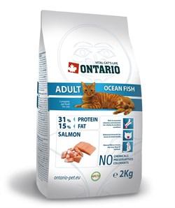 Ontario - Сухой корм для взрослых кошек (с морской рыбой) Adult Ocean Fish - фото 6451