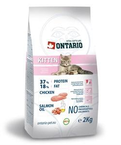 Ontario - Сухой корм для котят с курицей Kitten - фото 6454