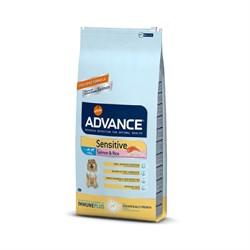 Advance - Сухой корм для собак с чувствительным пищеварением (c лососем и рисом) Sensitive - фото 6502