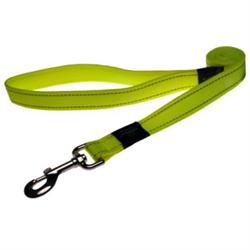 Rogz - Поводок, желтый (размер S - ширина 1,1 см, длина 1,8 м) UTILITY FIXED LEAD - фото 6553