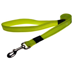 Rogz - Поводок, желтый (размер M - ширина 1,6 см, длина 1,4 м) UTILITY FIXED LEAD - фото 6660