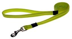 Rogz - Удлиненный поводок, желтый (размер XL - ширина 2,5 см, длина 1,8 м) UTILITY FIXED LONG LEAD - фото 6770