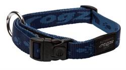Rogz - Ошейник, темно-синий (размер M (26-40 см), ширина 1,6 см) ALPINIST SIDE RELEASE COLLAR - фото 6992