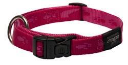 Rogz - Ошейник, розовый (размер M (26-40 см), ширина 1,6 см) ALPINIST SIDE RELEASE COLLAR - фото 6996
