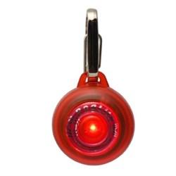 Rogz - Светящаяся подвеска (красный) SAFETY LIGHT - фото 7093