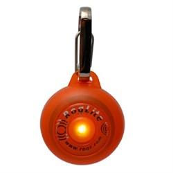 Rogz - Светящаяся подвеска (оранжевый) SAFETY LIGHT - фото 7094