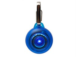Rogz - Светящаяся подвеска (синий) SAFETY LIGHT - фото 7096