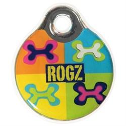 "Rogz - Адресник пластиковый малый ""Поп-арт"" INSTANT ID TAG SMALL - фото 7097"