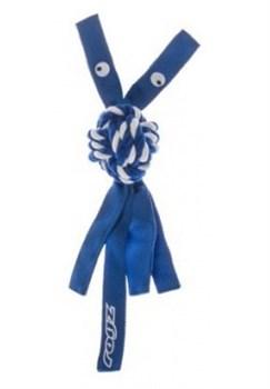 Rogz - Канатная игрушка с пищалкой, малая (синий) COWBOYZ ROPE TOY - фото 7163